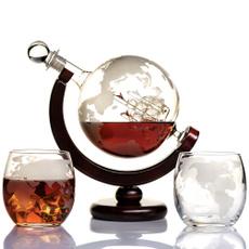 giftforbrother, anniversarygiftsformen, vodka, globedecanter