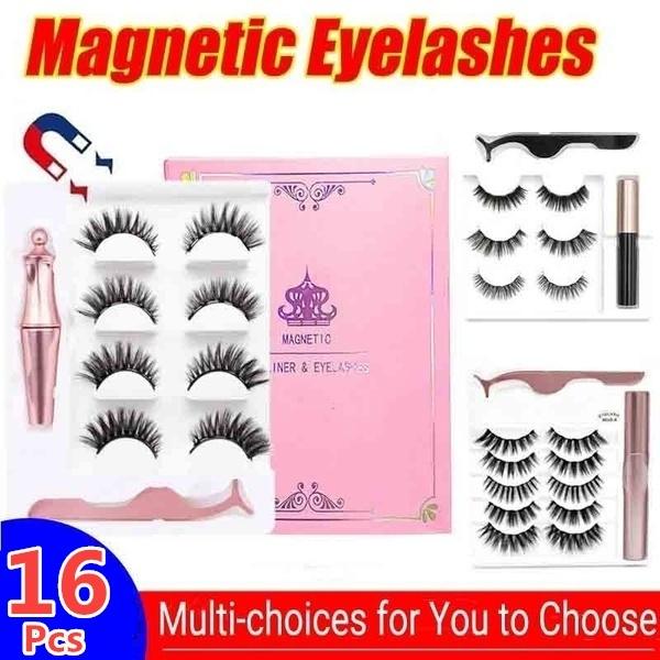 magneteyelash, False Eyelashes, Makeup, Beauty
