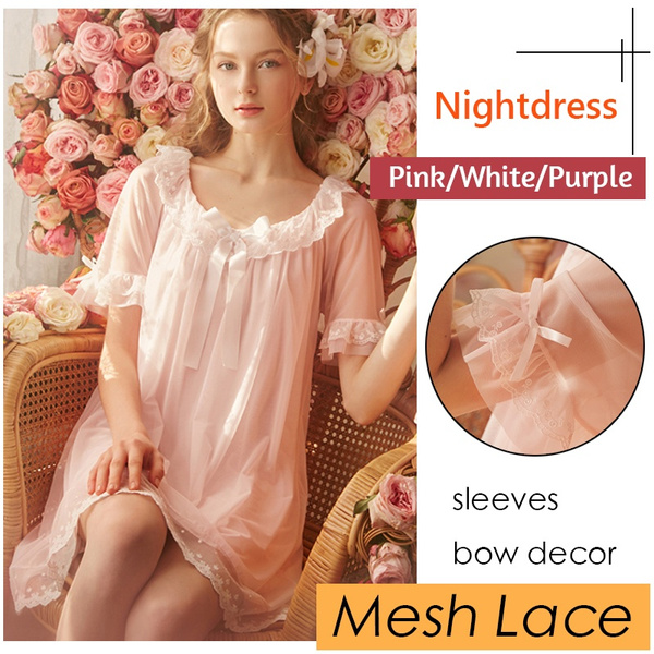 sexy sleepwear dress, meshlacefabric, Lady Fashion, Dress
