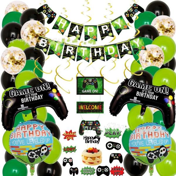 decoration, Video Games, Aluminum, birthdaydecor