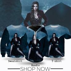 Fashion, Shirt, Print, Vampire