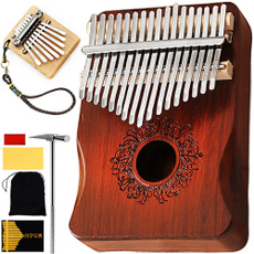 woodenkalimba, Musical Instruments, mahogany, kalimbakey