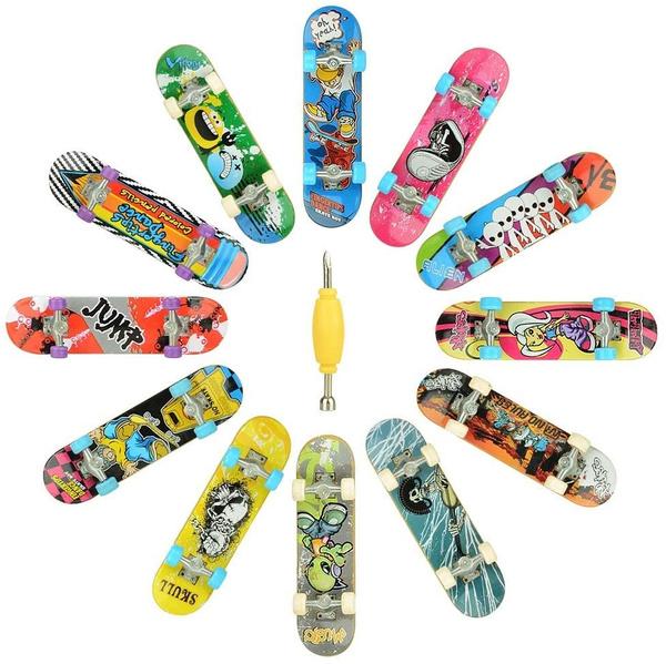 Mini, 12, fingerboard, Skateboard