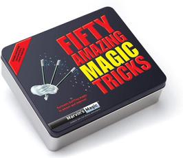 Tricks, Tin, Magic, marvin