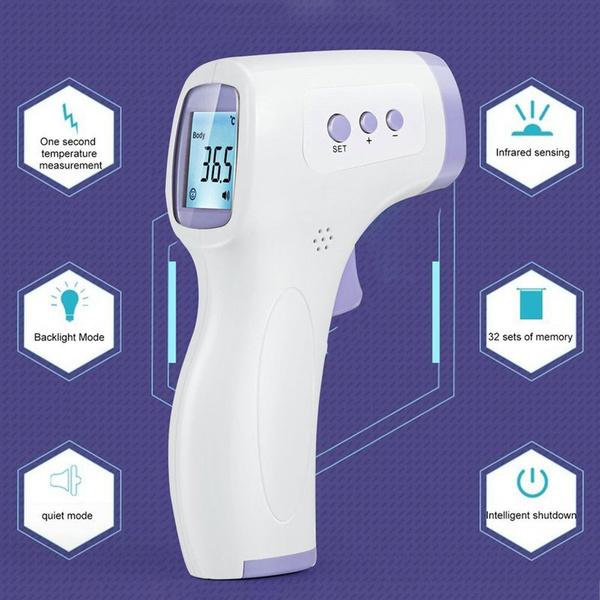 foreheadthermomete, oximetersfingertippulse, bodythermograph, Monitors