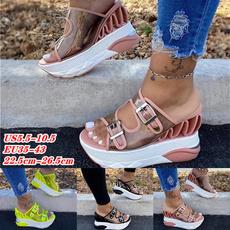 wedge, Fashion, Platform Shoes, Summer