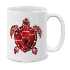 Turtle, kitchenhomediningbarsupplie, Ceramic, 11oz