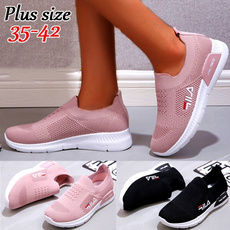 Plus Size, shoes for womens, breathablesneaker, summer shoes