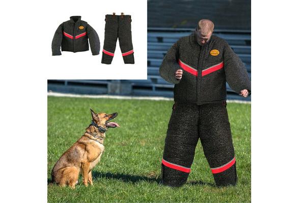 HILASON Large Body Protection Police Dog Training Bite Suit Pant