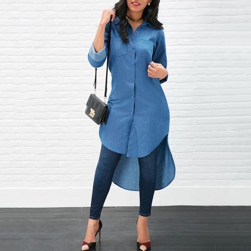 Mini, Fashion, long shirt, Long Sleeve