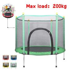 Indoor, jump, shells, trampoline