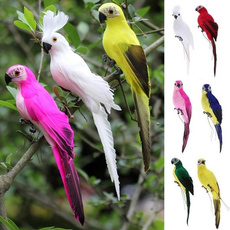 simulationbird, Garden, Parrot, white