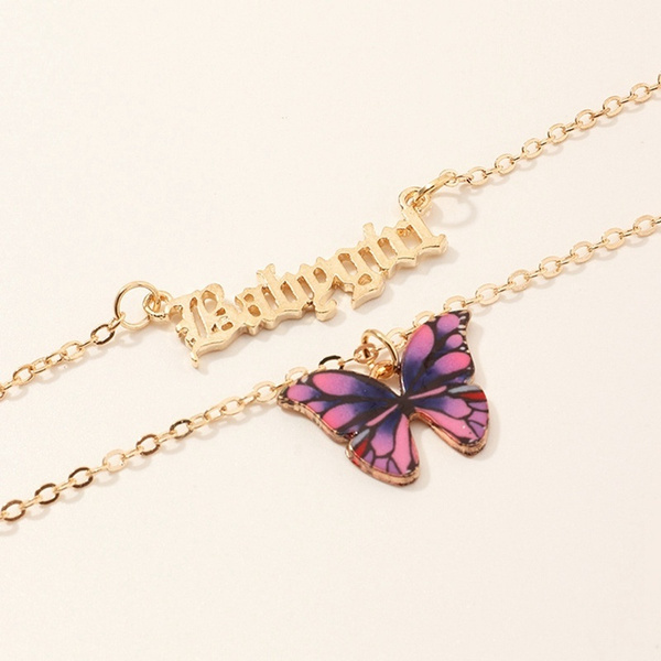 butterfly, Party Necklace, partypendant, Fashion