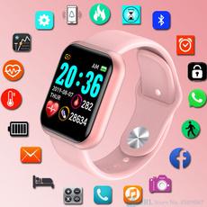 heartrate, led, Waterproof Watch, Clock