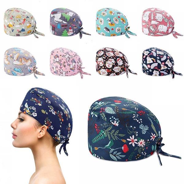 Fashion, Scrubs, women hats, surgicalcap