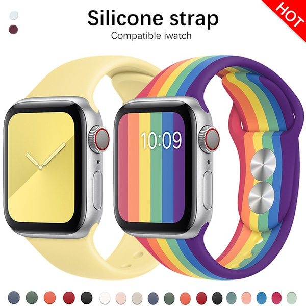 applewatch, Jewelry, Colorful, Silicone