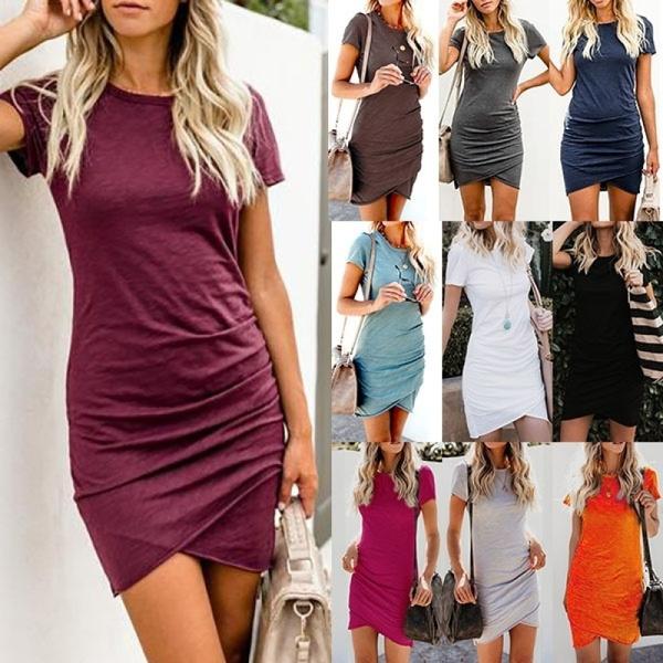 short sleeve dress, tunic, Sleeve, Shorts