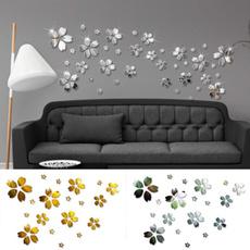 decoration, Flowers, homewallsticker, 3dwallsticker