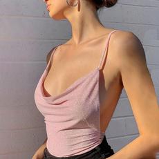 Vest, crop top, Sexy Top, Casual