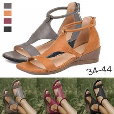 non-slip, Summer, Sandals, heightened