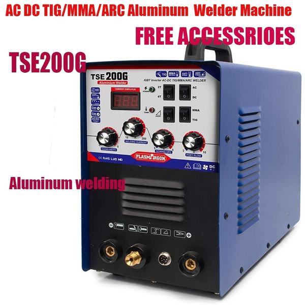 tigmmaarc, Aluminum, generation, tse