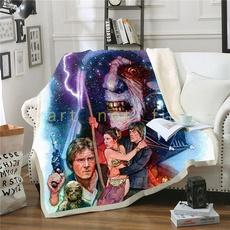 3dprintblanket, Fleece, Star, Sofas