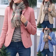 jacketforwomen, Plus Size, Blazer, Sleeve