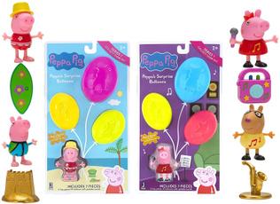 peppa, Balloon, Pack, suprise