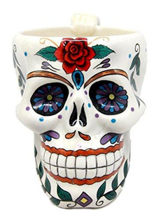 Coffee, mexican, dayofdead, Gifts