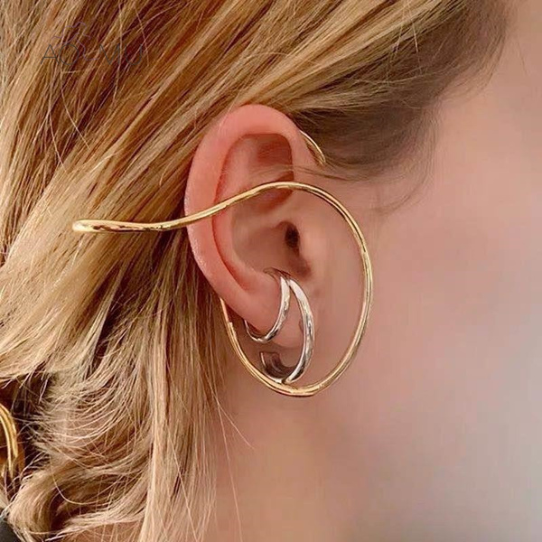 Jewelry, gold, retroline, Simple