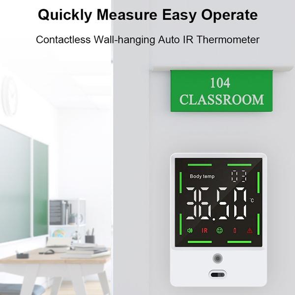 infrarednoncontactthemometer, infraredthermometerforfactory, School, Office