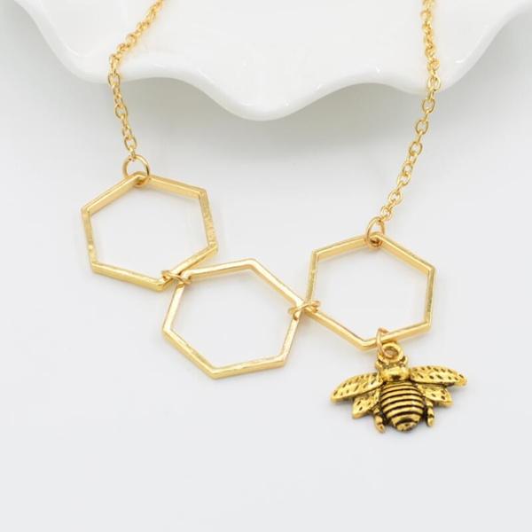 Fashion, Jewelry, Simple, bee