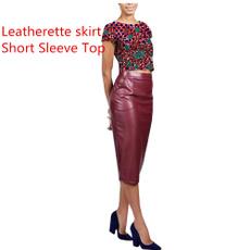 short sleeve dress, Dress, short sleeves, ankara