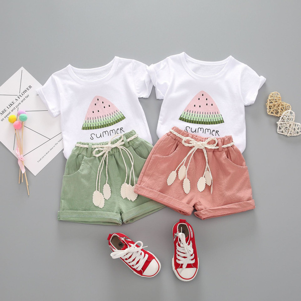 Cotton, Baby Girl, Shorts, kids clothes