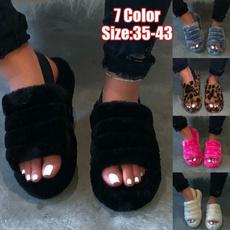Home & Kitchen, Flip Flops, Sandals, fur