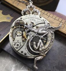 Jewelry, mechanicalaccessorie, exquisitegift, gearnecklace