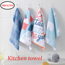 rag, Kitchen & Dining, plaid, Towels