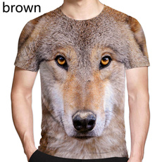 wolf3dtshirt, Fashion, Summer, Men