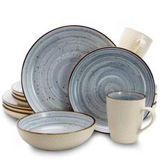 dinnerwareset, Dinnerware, Tableware, Blues