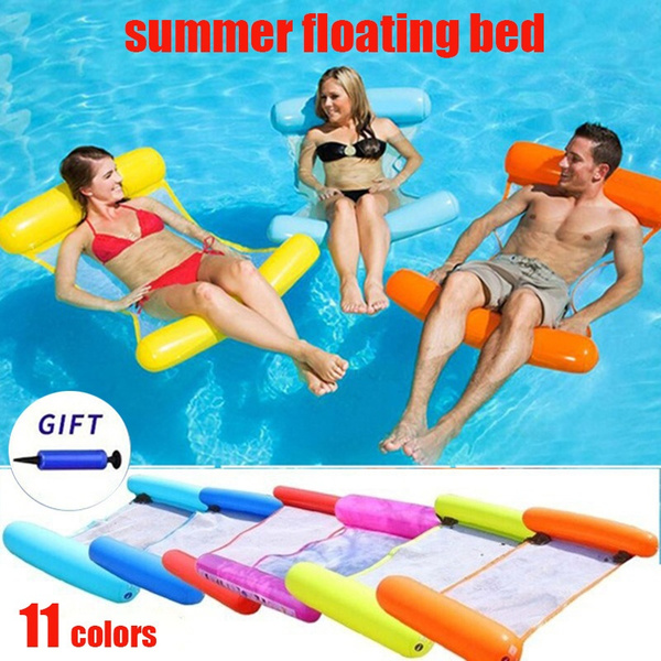 floatablepoolchair, waterhammock, floatingbed, relsxtiontime
