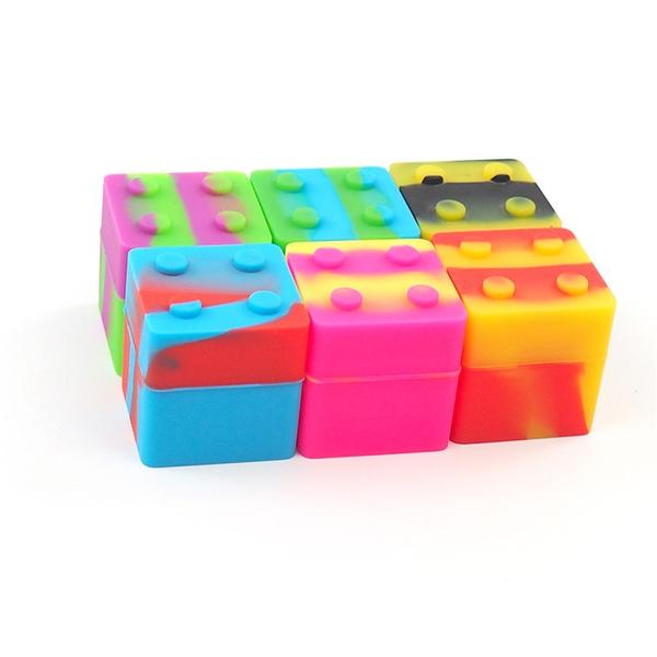 Mini, Container, Silicone, siliconedabcontainer