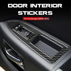 Dodge, Fiber, Door, cartrimsticker