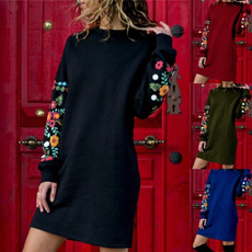 Fashion, sleeve dress, Necks, Sleeve