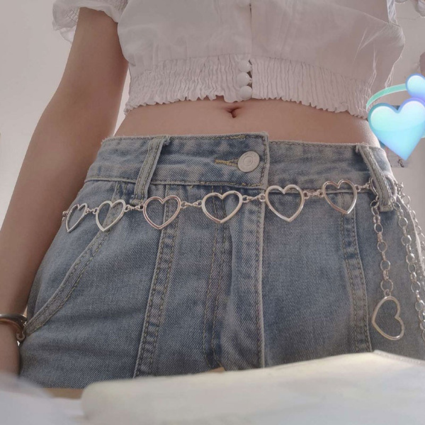 Heart, Fashion Accessory, pantschain, Waist