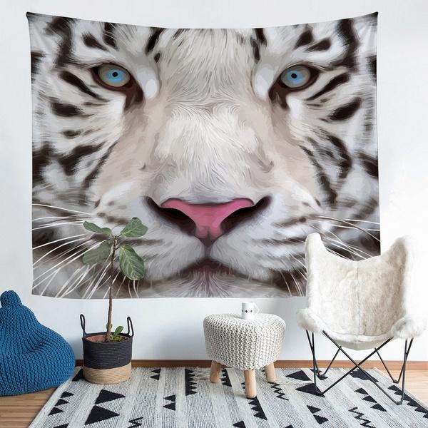 art, Home Decor, animaltapestry, Blanket
