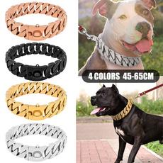 strongmetaldogchain, Steel, Collar, Jewelry