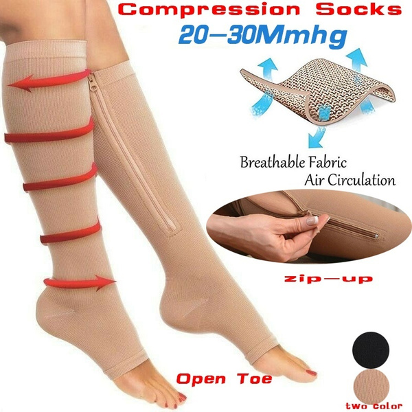 zippersock, compression, Breathable, Socks