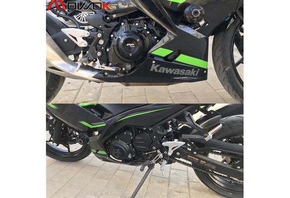 250R QAIK Systembremskupplung Hebel Protector Fallender Schutz Fit f/ür 2020 Kawasaki Ninja 125//250//300//400 Color : Black 650//1000