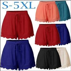 Summer, Plus Size, high waist, beachpant