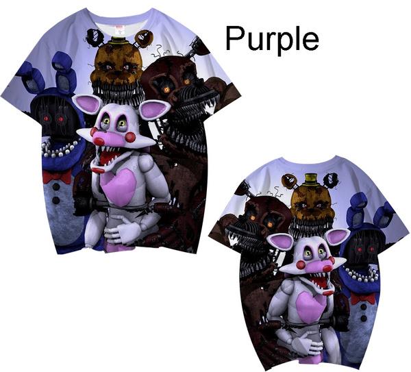 childrens3dtshirt, fnaffivenightsatfreddy, boygirl, T Shirts